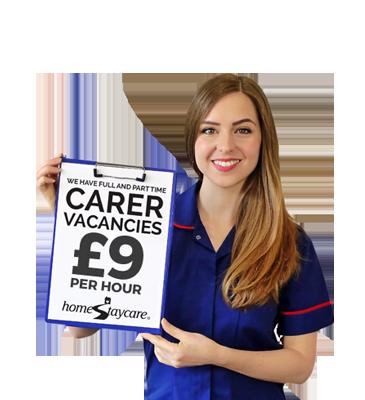 carer jobs staffordshire